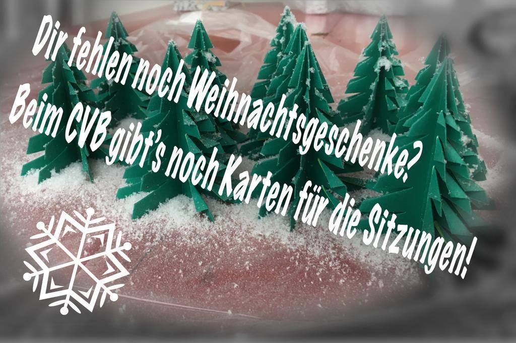 Perfekte Weihnachtsgeschenke.Sitzungskarten Das Perfekte Weihnachtsgeschenk Carnevalverein